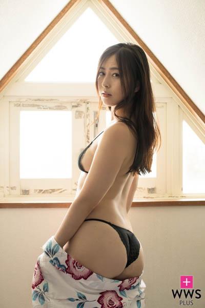 日本一エッチな女子アナ・薄井しお里、2ndイメージをリリース「なにしてあそぼうか?」