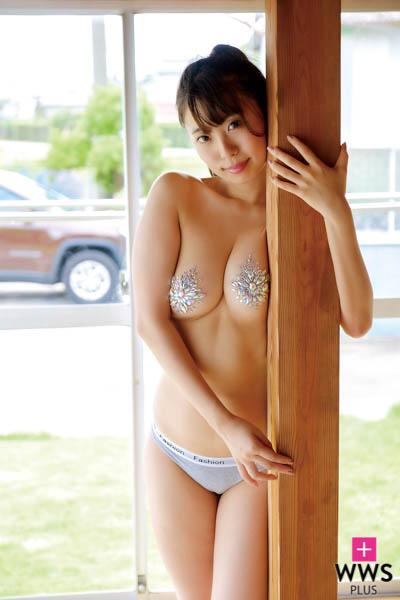 樹智子が新作DVDでむちむちのGカップを披露!「前作よりかなり大胆に攻めています!」
